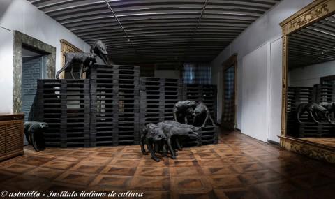Paolo Grassino all'Istituto Italiano di Cultura di Madrid