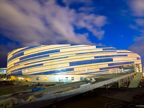 Stahlbau Pichler, Shayba Arena, Sochi