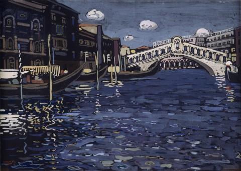 Vassilij Kandinskij, Venise n°4, 1903 ca. - Centre Pompidou