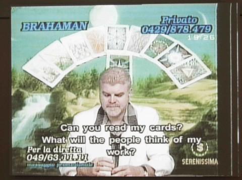 Christian Jankowski, Telemistica, 1999 - still da video - Courtesy l'artista