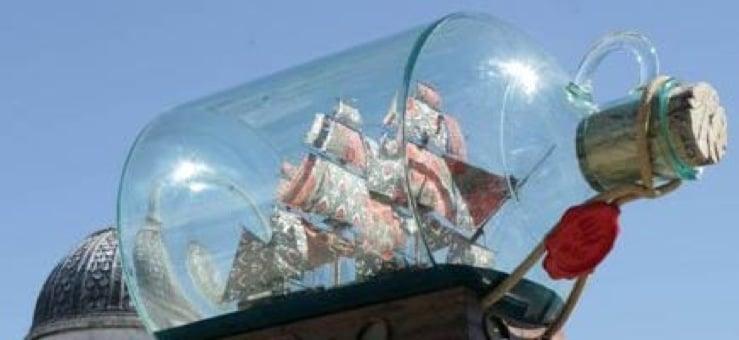 Yinka Shonibare, Fourth Plinth (foto london.gov.uk)