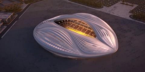 Zaha Hadid - stadio Al-Wakrah, Qatar