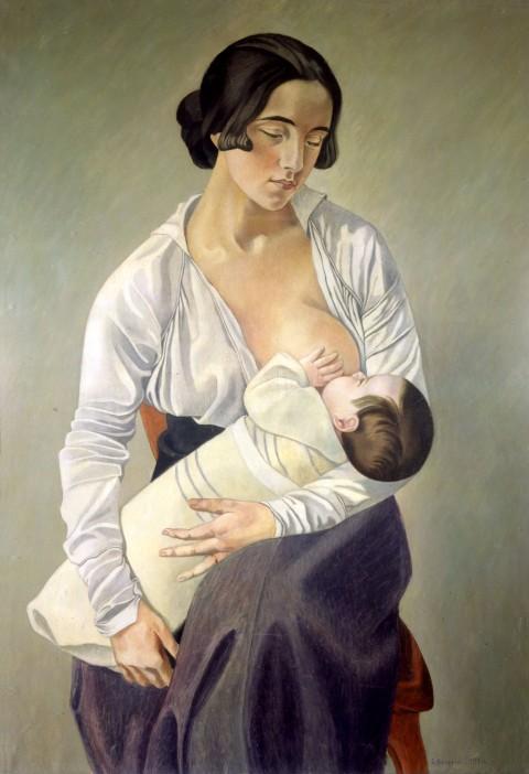 Gino Severini, Maternità, 1916