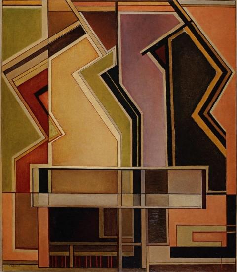 Mario Radice, Ritratto segreto, 1961 - 800x920 cm