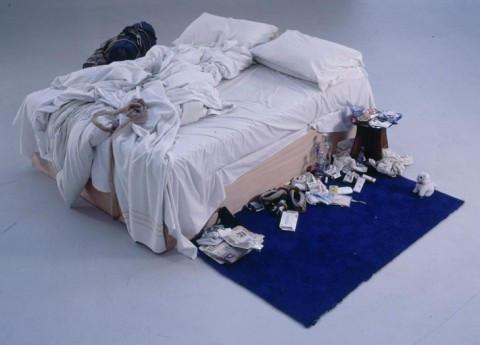 Tracey Emin, My bed, 1998