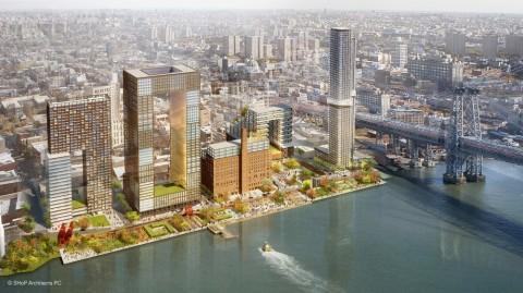 Domino Sugare Masterplan Redevelopment - courtesy Shop Architects