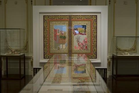 Shahzia Sikander - veduta della mostra presso il Cooper Hewitt National Design Museum, New York 2009 - courtesy Sikander Studio