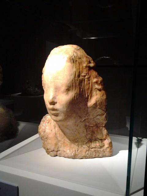 D'après Rodin - veduta della mostra presso la GNAM, Roma 2014