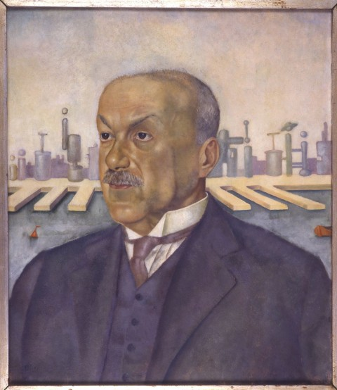 Leonor Fini, Ritratto di Italo Svevo (1928)