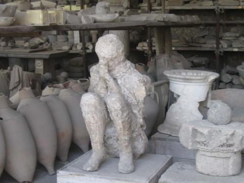 Pompei, depositi