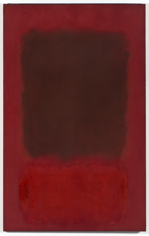 Mark Rothko, Red and Brown, 1957 - Olio su tela, 175, 26 x 109,86 x 2,54 cm - Los Angeles, The Museum of Contemporary Art, The Panza Collection - © Kate Rothko Prizel & Christopher Rothko/ Artists Rights Society (ARS), New York, photo Brian Forrest