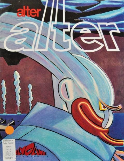 Alter, cover di Lorenzo Mattotti