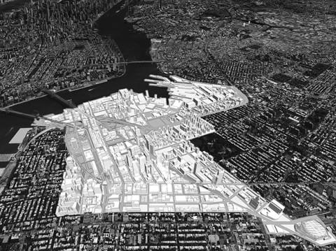 Brooklyn Tech Triangle - courtesy WXY Architecture + Urban Design