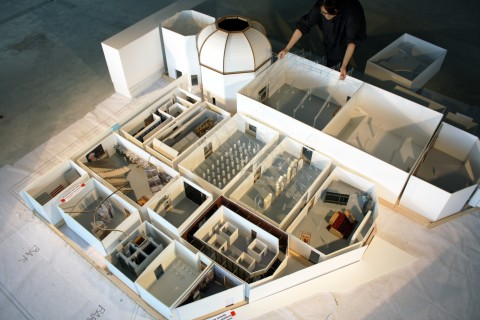 Elements of Architecture, Central Pavilion, Model in progress, Padiglione Centrale, Giardini, courtesy la Biennale di Venezia, copyright Rem Koolhaas
