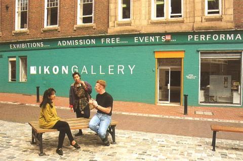 Ikon Gallery, John Bright Street, 1978-1998, courtesy Ikon