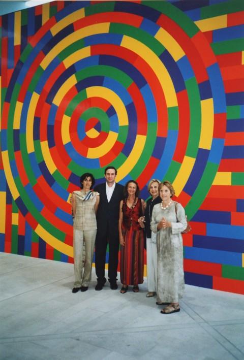 Inaugurazione della mostra Art&Maggio alla Galleria Bonomo di Bari, 2003