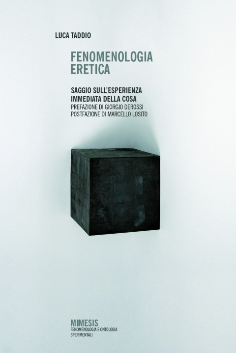 Luca Taddio, Fenomenologia Eretica (2011)