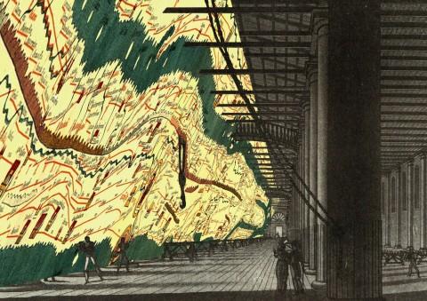 Monditalia – Corderie – Map, Corderie, Arsenale, courtesy la Biennale di Venezia, copyright Rem Koolhaas