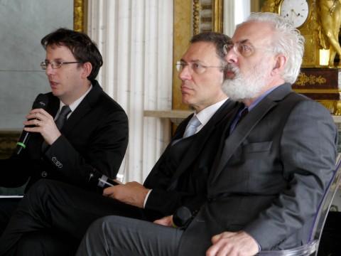 Filippo Del Corno, Francesco Bonami e l'ad di UBS Italia Fabio Innocenzi