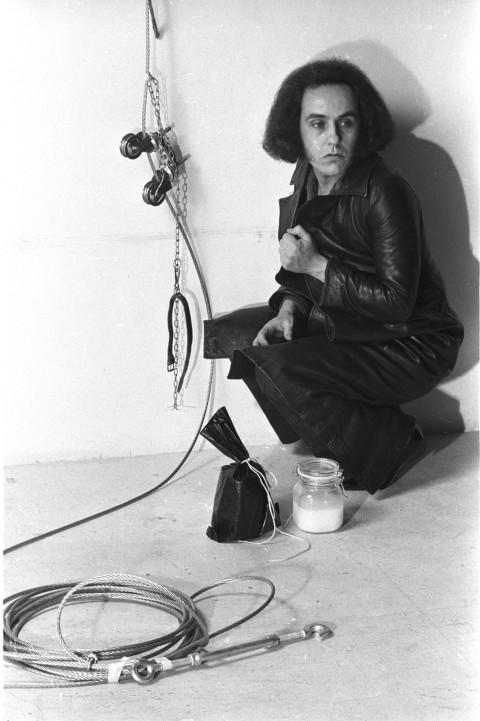 Vettor Pisani, Elevazione della Vergine, 1972-2011 - Courtesy Elisabetta Catalano - Photo © Elisabetta Catalano