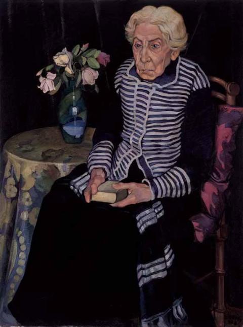 Stanis Dessy, Zia Remondica, 1928, olio