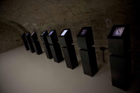 Steve McCurry - Sensational Umbria - veduta della mostra presso l'Ex-Fatebenefratelli e Palazzo Penna, Perugia 2014