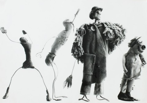 Ugo Mulas, Alexander Calder, Circus 1963 (c)Eredi Ugo Mulas. Tutti i diritti riservati Courtesy Archivio Ugo Mulas - Galleria Lia Rumma Milano