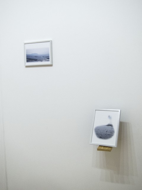 Marco Pezzotta, Neither or nor either, 2013 - Lambda print, wood, 18 x 24 cm each - Galleria Beo_Project, Belgrado