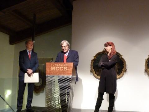 La conferenza stampa di Vittorio Sgarbi a Caceres