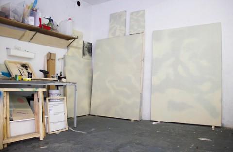 Erik Saglia, Studio view, 2013