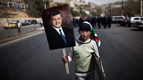 Abdullah II di Giordania