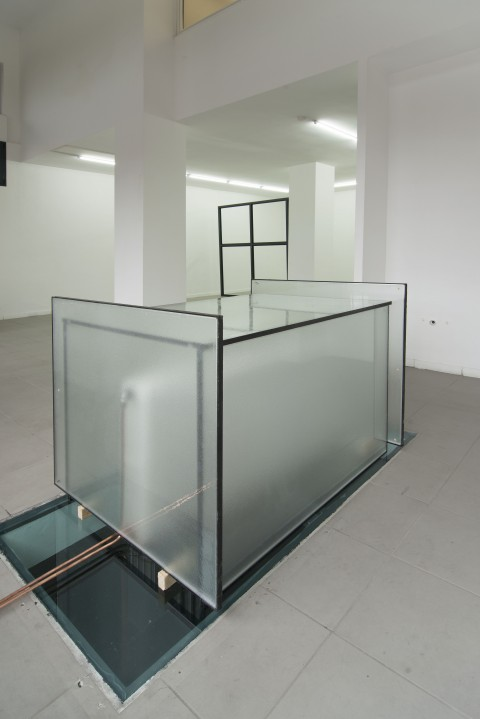 Florian Neufeldt, Soliloqui, 2014, installation view at The Gallery Apart, Roma