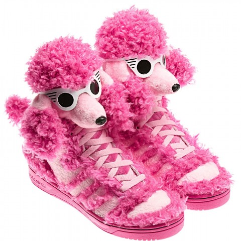 Jeremy Scott, ecco le sue sneakers canine per Adidas