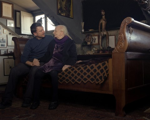 Andrea Guerzoni e Carol Rama, 2011 - photo courtesy Paolo Andrea Montanaro