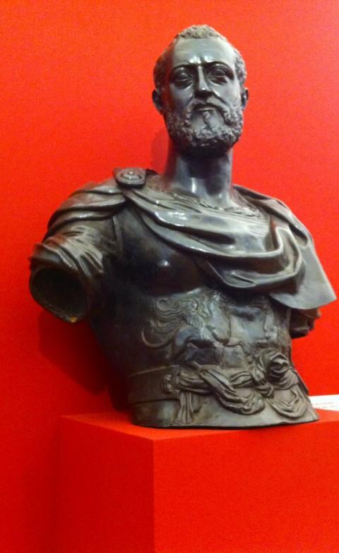 Baccio Bandinelli, Ritratto di Cosimo I, 1554-58 - Galleria Palatina, Firenze - photo Gino Pisapia