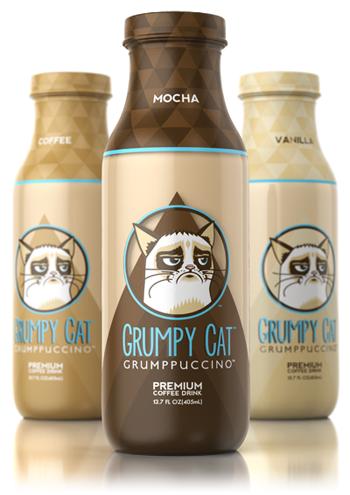 I cappuccino Grumpy Cat