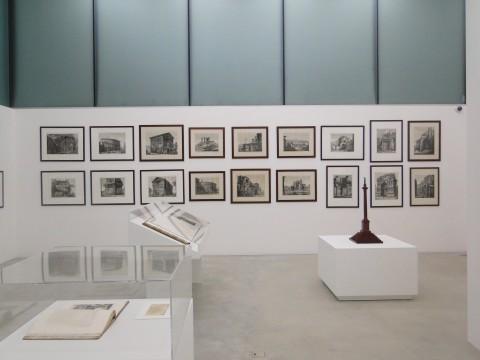 Luigi Rossini - Il viaggio segreto - veduta della mostra presso il m.a.x. museo, Chiasso 2014