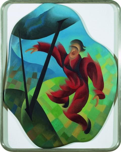Di Bosso, Il paracadutista, 1942 - Galleria d'Arte Moderna Achille Forti, Verona
