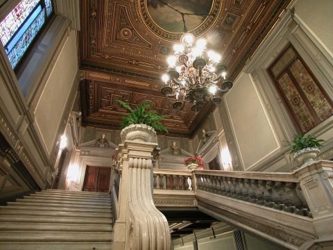 Interni di Palazzo Cisterna, Roma