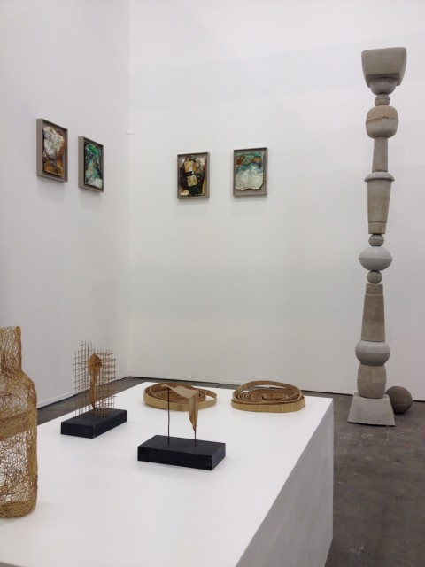 Lo stand Ex Elettrofonica ad Art Brussels 2014
