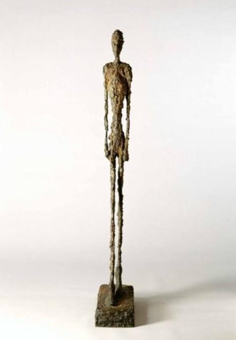 Alberto Giacometti, Homme qui marche, 1947 - Kunsthaus Zürich