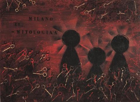 Piero Manzoni, Milano et mitologia, 1956
