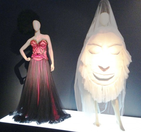 The Fashion World of Jean-Paul Gaultier - veduta della mostra presso il Barbican Centre, Londra 2014