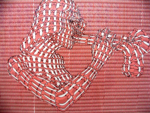 Un'opera di Thomas Bayrle. Tra erotismo e femminismo