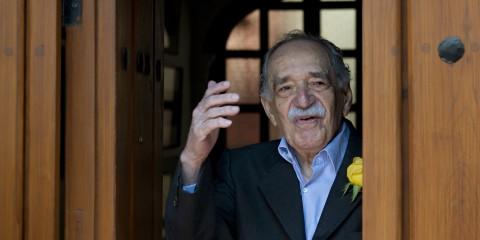 Gabriel García Márquez il giorno del suo 87esimo compleanno, il 6 marzo 2014 - photo Yuri Cortez/AFP/Getty Images