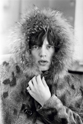 Mick Jagger posa per Terry O'Neill