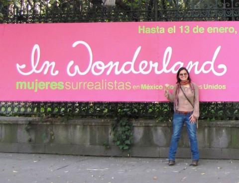 Mercedes Auteri al Museo Universitario di Arte Contemporanea, Città Universitaria UNAM, Città del Messico