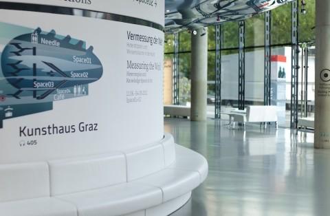 Kunsthaus Graz (interno/foyer) –© Christian Plach