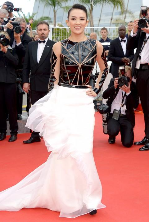 Cannes 2014, red carpet - Zhang Ziyi