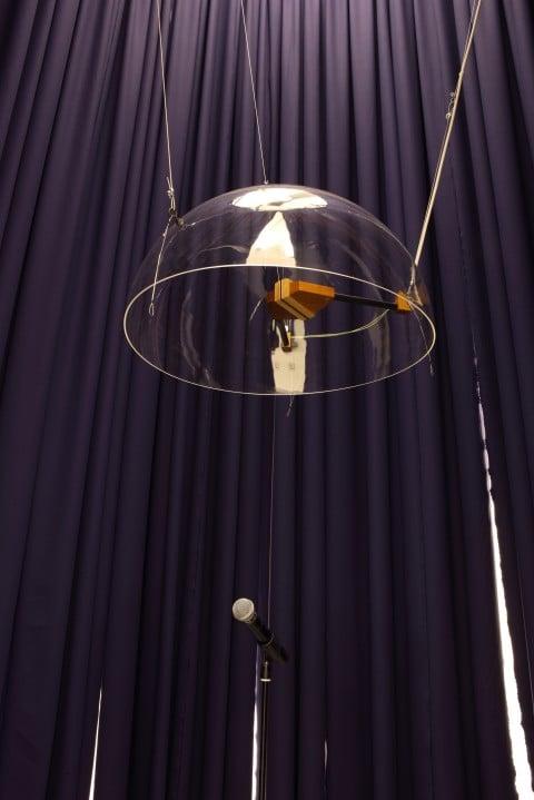 Alessandro Sciaraffa, I lunatici parlano alla Luna, 2014 - installazione sonora (particolare) - photo Paolo Pellion - Courtesy Galleria Giorgio Persano